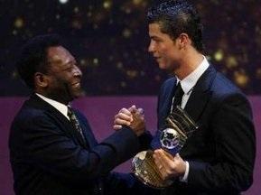 FIFA признала Криштиано Роналдо лучшим футболистом 2008 года