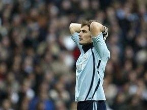 Касільяс зіграв 450-й матч за Реал