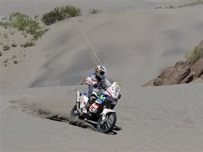 Дакар-2009: Лопес побеждает в гонке мотоциклистов