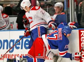 NHL: Канадцы сильнее Рейнджеров