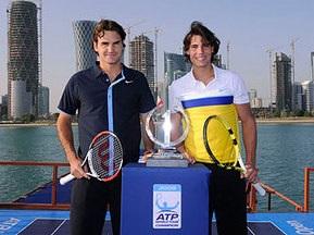 ATP-2009: Надаль и Федерер открыли сезон матчем на борту судна
