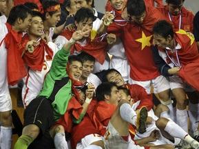 Збірна В єтнаму стала найсильнішою командою Південно-Східної Азії