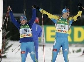 Біатлон: Українці перемагають у Рождественській гонці