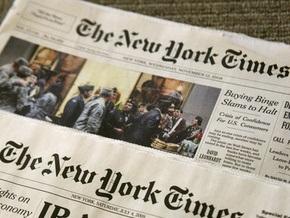 Рекламные доходы The New York Times резко сократились