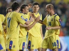 Кабмин выделит средства на поддержку сборной Украины по футболу