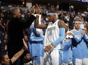 NBA: Кармело в ударе