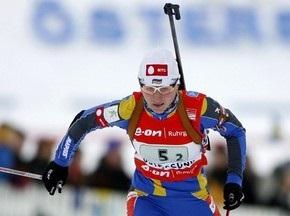 Біатлон: Віта Семеренко фінішувала четвертою