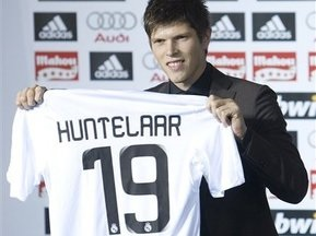 Хунтелара представили в Реалі