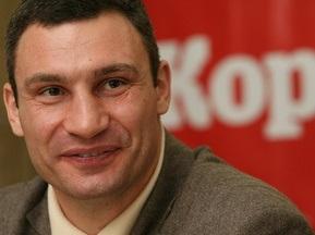 Віталій Кличко: Моє майбутнє пов язане з посадою мера Києва