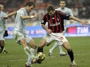 Кубок Италии: гол Шевченко не спасает Милан от поражения