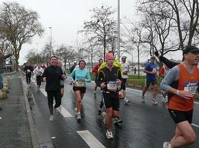 На французькому марафоні українка прибігла другою