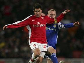 Арсенал-Динамо: Суддя сказав залишити м яч Фабрегасу
