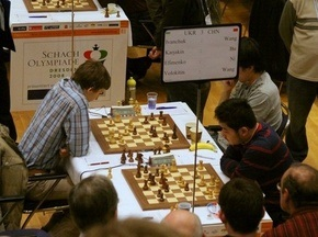 Команда українських шахісток зазнала першої поразки у Дрездені