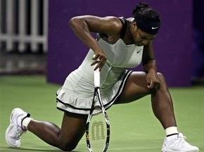 Доха: Серена Вільямс залишає турнір