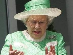 Елизавета II восхищается Хэмилтоном