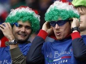 В Италии введут удостоверение болельщика