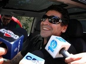 Марадона: Я чувствую себя очень сильным