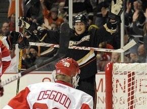 NHL: Селянне обыграл Детройт