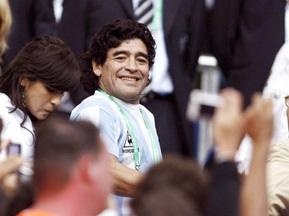 Марадона возглавил сборную Аргентины