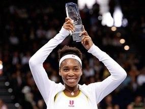 Венус Уильямс выиграла турнир в Цюрихе