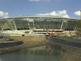 Строительство Донбасс Арены выходит на финишную прямую