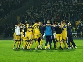 Україна 10-а в рейтингу коефіцієнтів УЄФА