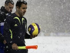 Динамо и Арсенал рассудит испанец