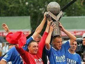 Сборная России выиграла чемпионат Европы по футболу среди бездомных