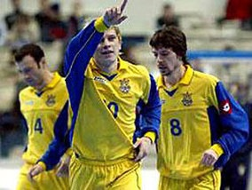 Мини-футбол: Определились соперники Украины по отбору к Евро-2010