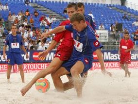Пляжный футбол: Сегодня стартует Суперфинал Чемпионата Украины