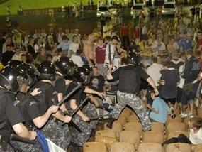 Матч Динамо-Спартак відвідають 5 тисяч міліціонерів