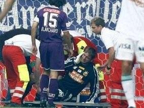 Вратарь австрийского клуба оглох на поле