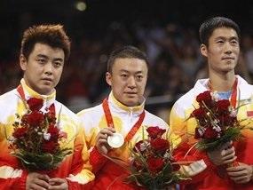 Настільний теніс: Китайці окупували подіум