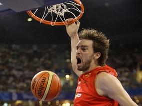 Баскетбол: Іспанія - перший півфіналіст