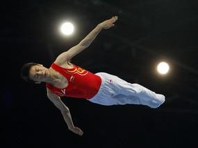 Прыжки на батуте: Китай штампует медали, украинец - пятый
