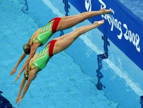 Синхронное плавание: Украинки заняли пятое место