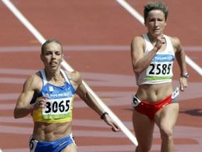 Українська бігунка - перша на 200-метрівці