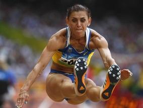 Прыжки в длину: Блонская - третья в квалификации