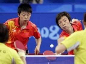 Китай доминирует в настольном теннисе