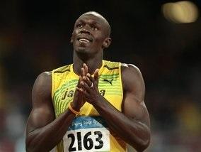 Усейн Болт побил рекорд на стометровке