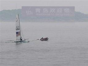 Олимпиада-2008: Из-за отсутствия ветра два комплекта наград разыграют завтра