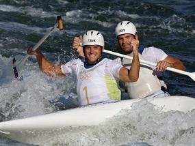Олимпиада-2008: Словакам нет равных в гребном слаломе