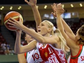 Баскетбол: Росіянки здолали Білорусь