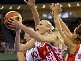 Баскетбол: Россиянки одолели Беларусь