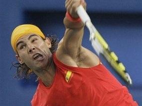 Теніс: Давиденко програв у другому колі