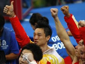 Олімпіада-2008: Китайські гімнасти беруть перше золото дня