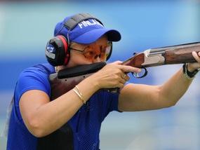 Стендова стрільба: Фінляндія здобула першу медаль