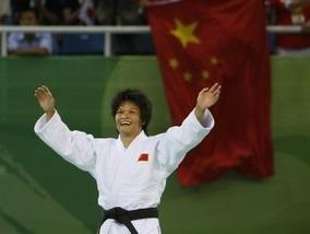 Дзюдо: Китаянка лучше всех