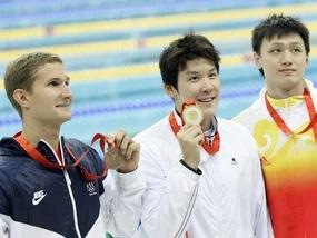 Корейский пловец выиграл золото Олимпиады-2008
