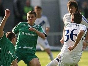 Чемпионат Украины: Динамо спотыкается в Полтаве